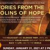 Sunday, January 31, 2021: Stories from the Violins of Hope